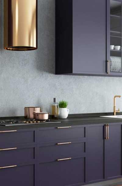 17 Purple Kitchen Cabinets Ideas | Sebring Build Design