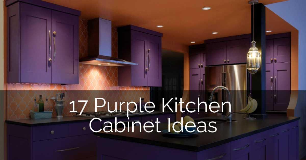 17 Purple Kitchen Cabinets Ideas Sebring Build Design