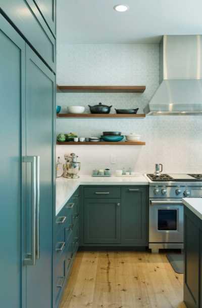 teal-light-blue-kitchen-cabinet-ideas
