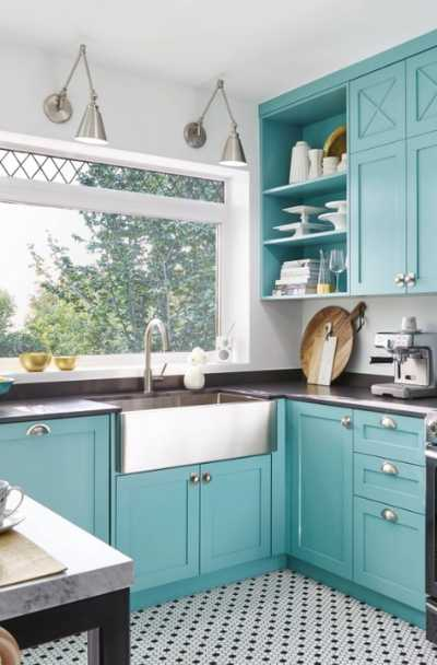 23 Teal Kitchen Cabinet Ideas Sebring Design Build