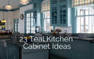 teal-light-blue-kitchen-cabinet-ideas