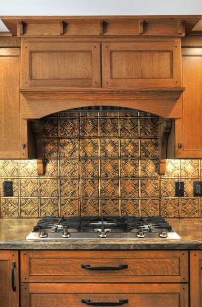 23 Tin Backsplash Design Ideas For Your