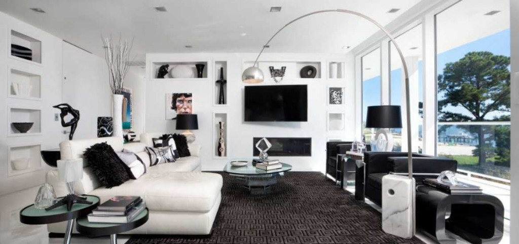 17 Black White Living Room Decor Ideas Sebring Design Build