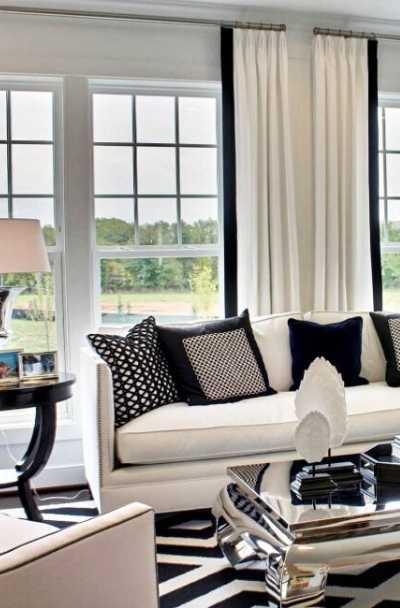 17 Black White Living Room Decor Ideas Sebring Design Build