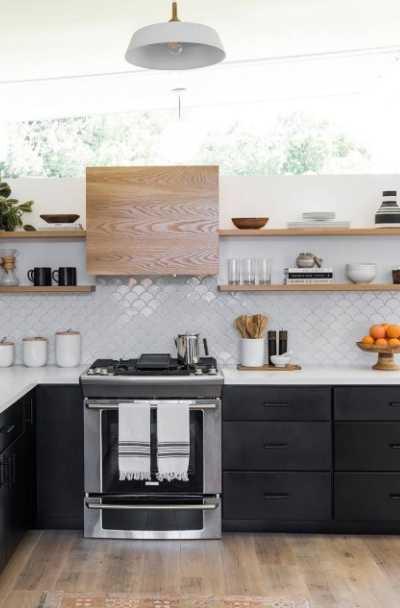 Kitchen Cabinets White And Black 25 Black & White Kitchen CabiIdeas | Sebring Design Build