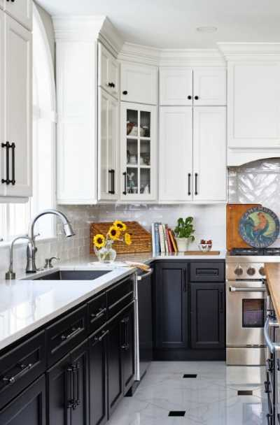 25 Black White Kitchen Cabinet Ideas Sebring Design Build