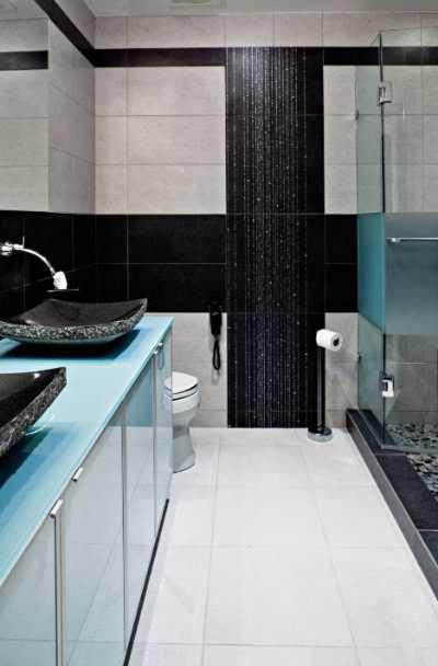 black-tile-design-kitchen-bath-ideas