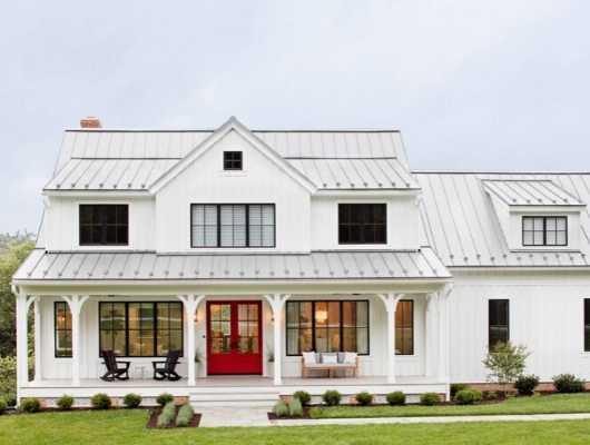 35 Modern Farmhouse Exterior Home Ideas