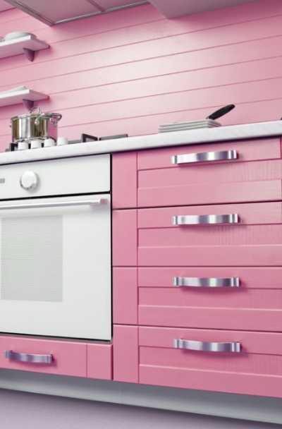 23 Pink Kitchen Cabinet Ideas | Sebring Design Build