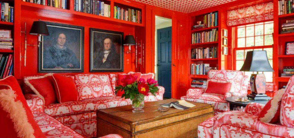 17 Red Living Room Decor Ideas, Red Living Room Ideas