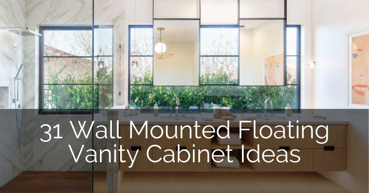 31 Wall Mounted Floating Vanity Cabinet Ideas Sebring Design Build