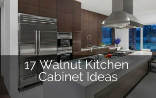 walnut kitchen cabinet ideas