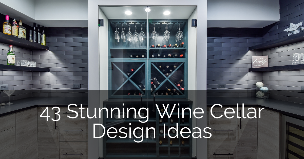 Stunning Wine Cellar Design Ideas That You Can Use Today - Sebring Design Build