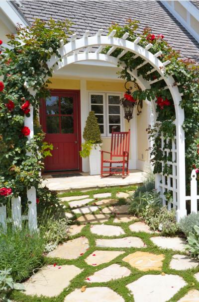 Front Yard Brick Fence Designs