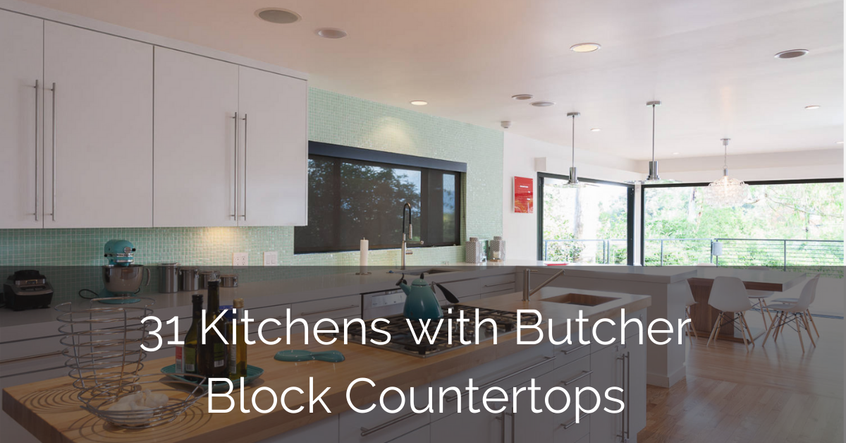 Picture of: 31 Kitchens With Butcher Block Countertops Sebring Design Build