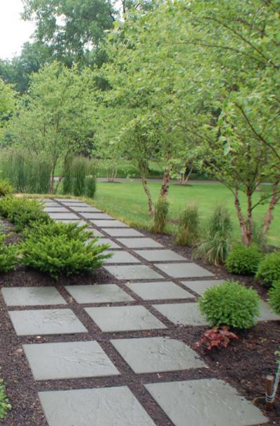 55 Backyard Walkway Landscaping Ideas, Patio Block Walkway Ideas