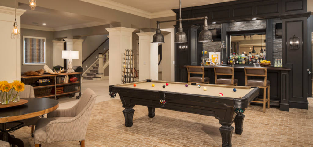 43 Billiard Room Design Ideas Sebring, Basement Game Room Design Ideas