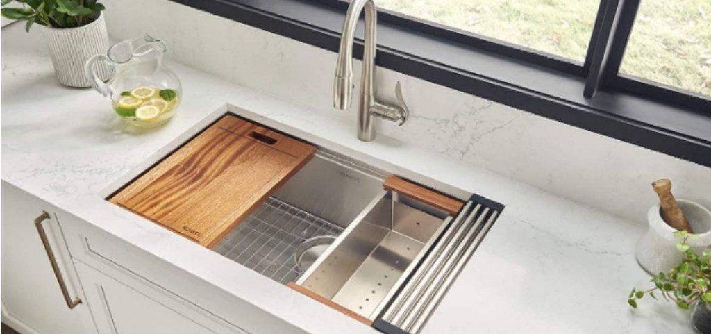 7 Best Workstation Sinks 2021 Reviews Home Remodeling Contractors Sebring Design Build