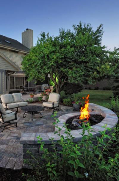39 Backyard Fire Pit Ideas Design, Firepit And Patio Designs