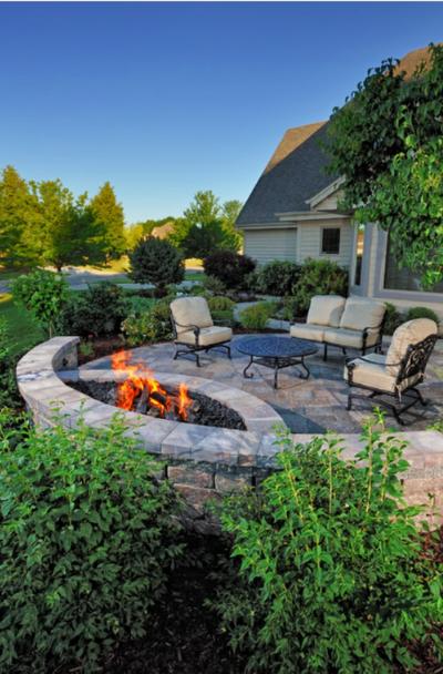 39 Backyard Fire Pit Ideas Design, Fire Pit Patios