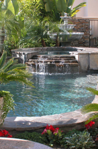 41 Swimming Pool Waterfall Ideas Sebring Design Build