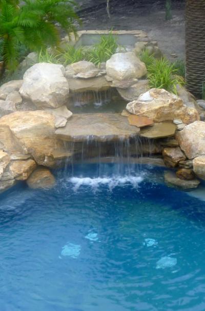 41 Swimming Pool Waterfall Ideas Sebring Design Build