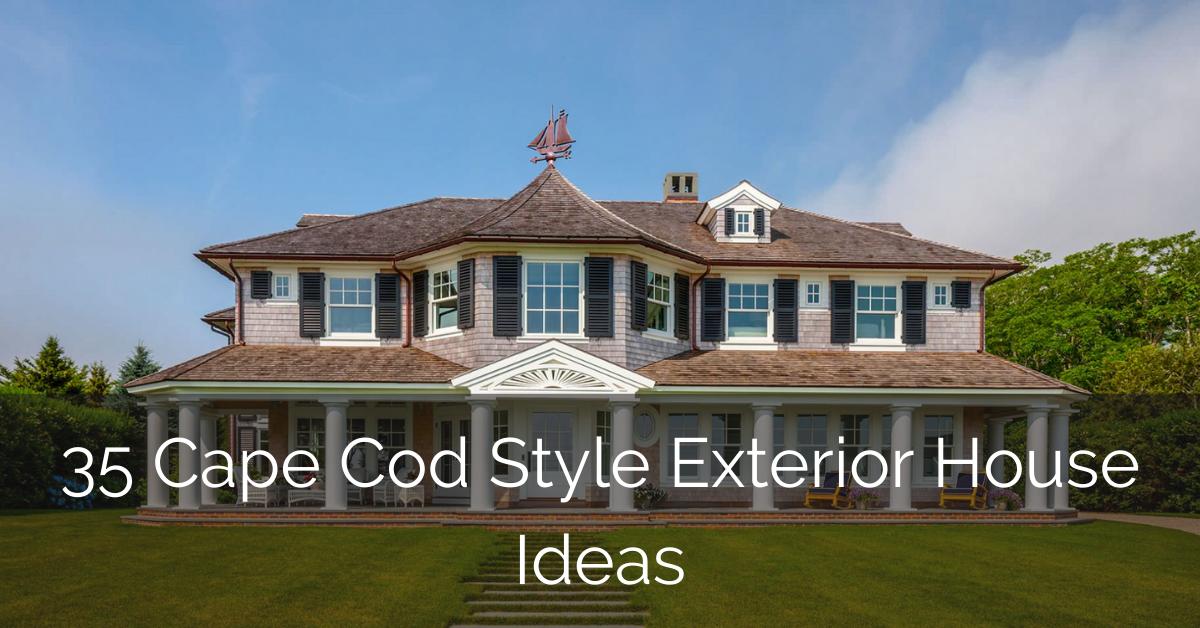 35 Cape Cod Style Exterior House Ideas Sebring Design Build
