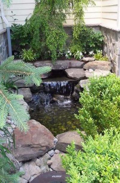 37 Backyard Garden Waterfall Ideas | Sebring Design Build
