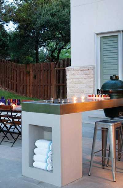 69 Outdoor Kitchen Bar Ideas, Outdoor Island Bar Ideas