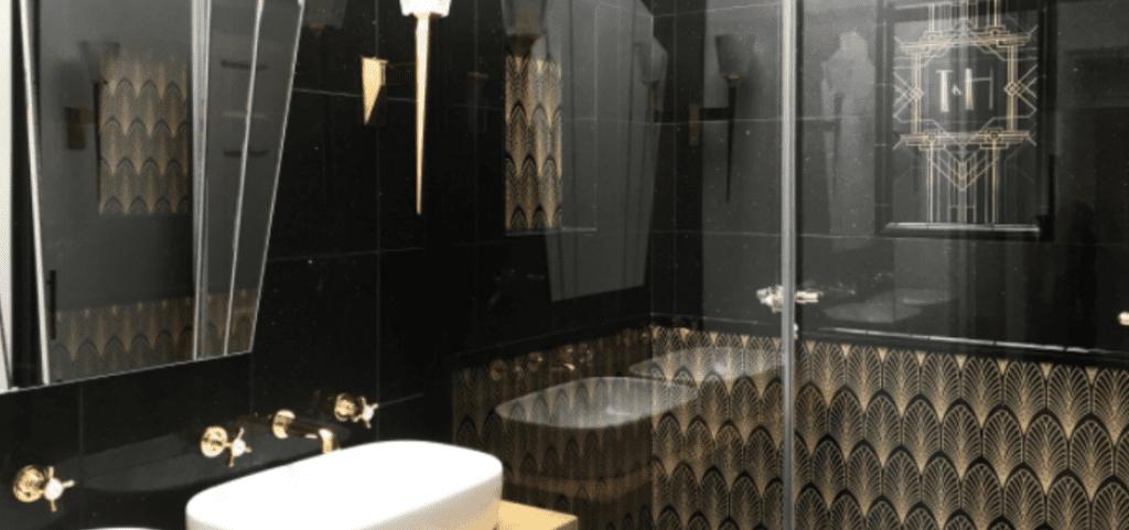 21 Art Deco Bathroom Design Ideas, Art Deco Bathroom