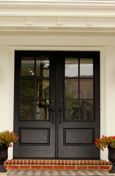 31 Houses With Black Front Entry Door Ideas Sebring Design Build