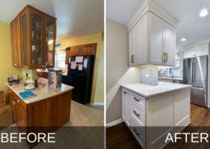 Glen Ellyn Kitchen Remodel Before and After