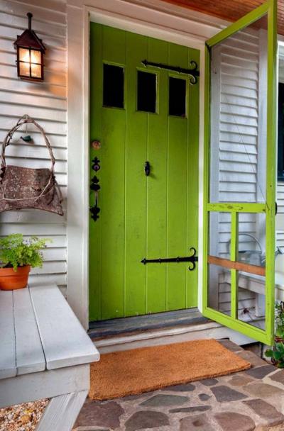 green-front-entry-door-ideas