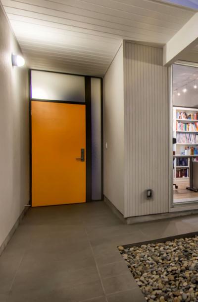 orange-front-entry-door-ideas