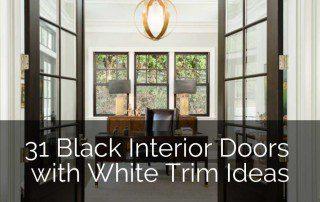 white-trim-black-doors-ideas