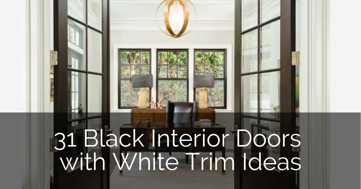 white-trim-black-doors-ideas