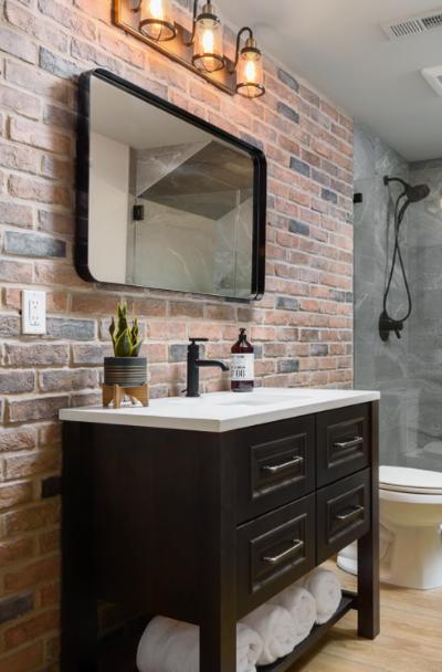 43 Industrial Rustic Bathroom Ideas Sebring Design Build