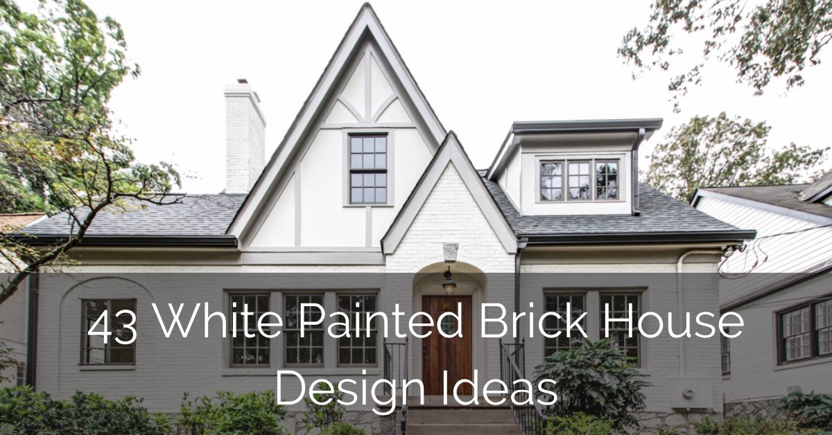 white-painted-brick-house-design-ideas