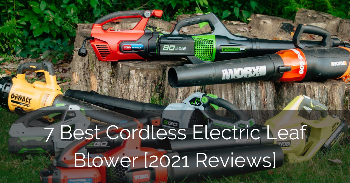 best-cordless-battery-electric-leaf-blower-reviews