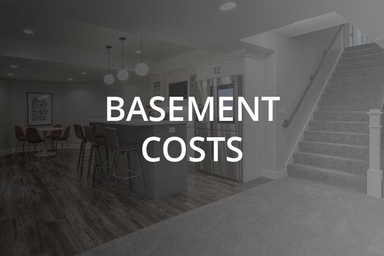 Basement Costs - Sebring Design Build