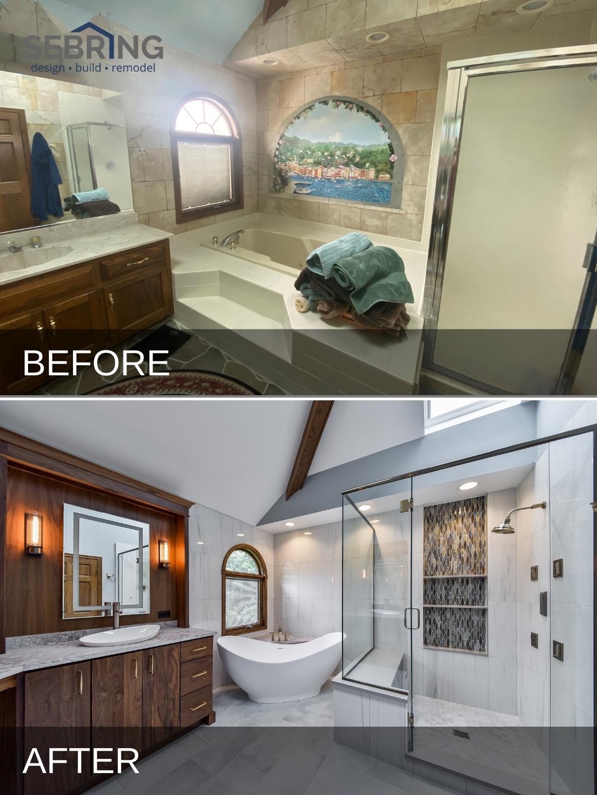 Naperville Bath Remodel B&A