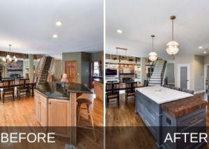 Naperville Kitchen Remodel B&A