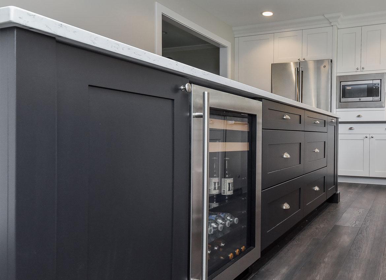 Dark Kitchen Cabinet Ideas - Sebring Design Build