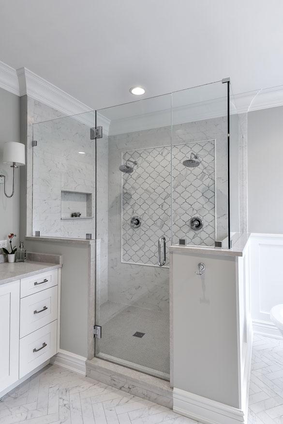 Fantastic Frameless Glass Shower Door Ideas - Sebring Design Build
