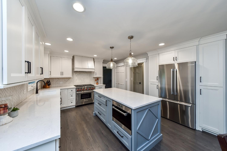White Naperville Kitchen